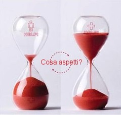 Donazione sangue tempo clessidra Marcianise Caserta