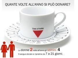 Quante volte si può donare il sangue.