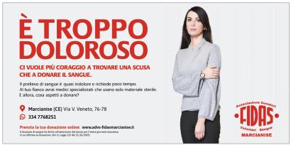 Donazione sangue Marcianise Caserta coraggio impegni.